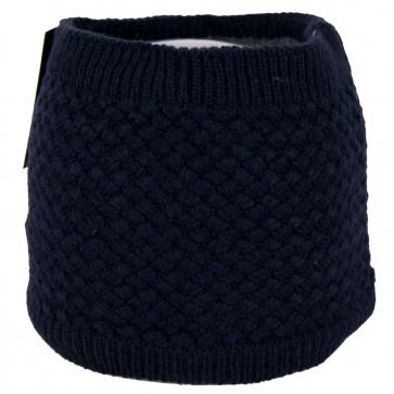 Cappello scaldacollo invernale punto a maglia rombo