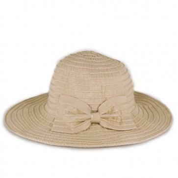 Cappello femminile a tesa larga pieghevole