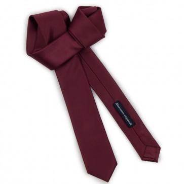 Cravatta slim uomo tinta unita
