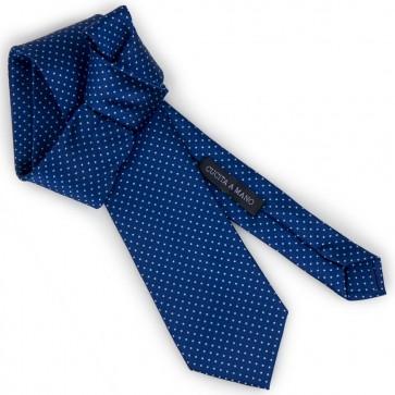 Cravatta a pois elegante classica