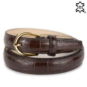 Cintura sottile donna marrone stampa cocco