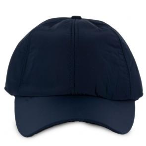 Cappello uomo blu invernale con visiera
