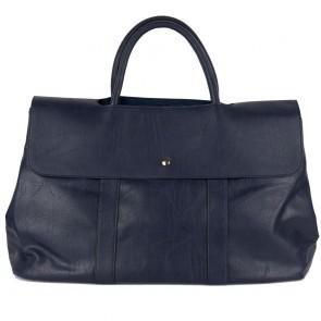 Borsa blu grande donna bag capiente