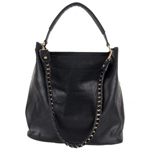 Borsa a spalla hobo bag con catena