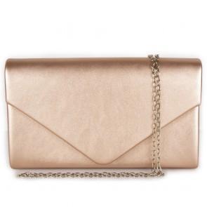 Clutch bag rose gold a busta elegante