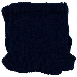 Scaldacollo a maglia treccine