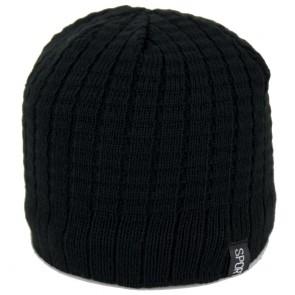 Zuccotto cappello invernale uomo di maglia a costine