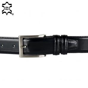Cintura elegante uomo con cuciture ai bordi