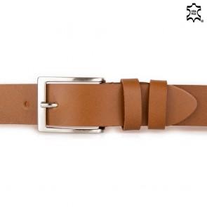 Cintura di cuoio uomo 3,5cm