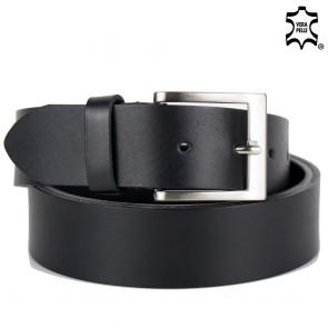 Cintura pelle uomo semplice made in italy