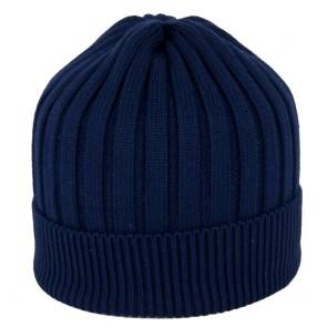 Cappello invernale uomo di maglia a costine