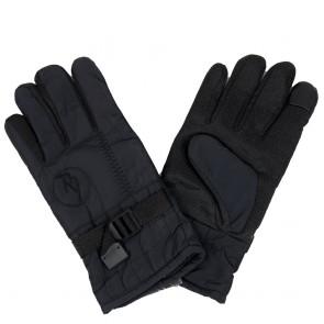 Guanti uomo invernali in tessuto tecnico e dotato di touch