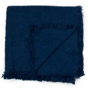 Sciarpa quadrata tessuto bouclè