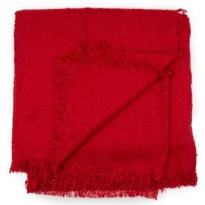 Sciarpa donna rossa quadrata