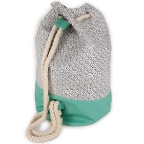 Sacca mare uomo con bretelle in corda