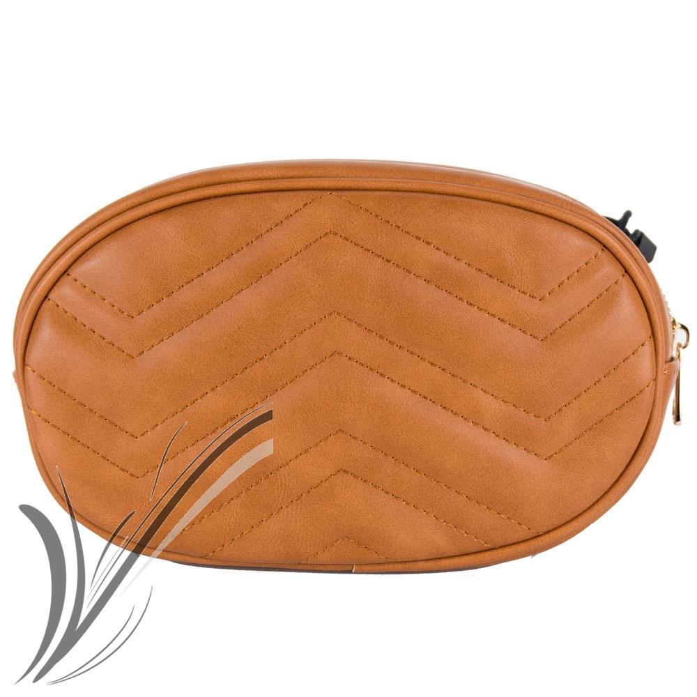 acf284ea84 Borsa tracolla donna trapuntata marsupio ovale borsetta pochette ...