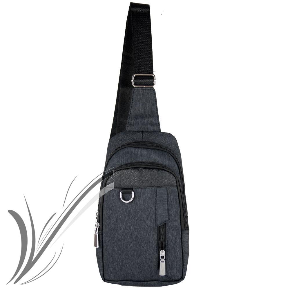 3bab7d9be942 Zaino monospalla da uomo borsa tracolla zainetto borsello Marsupio Moto  Viaggio 3 3 di 4 ...