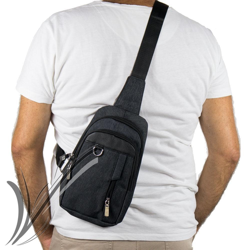 Zaino monospalla da uomo borsa tracolla zainetto borsello Marsupio ... ce6fc88c857