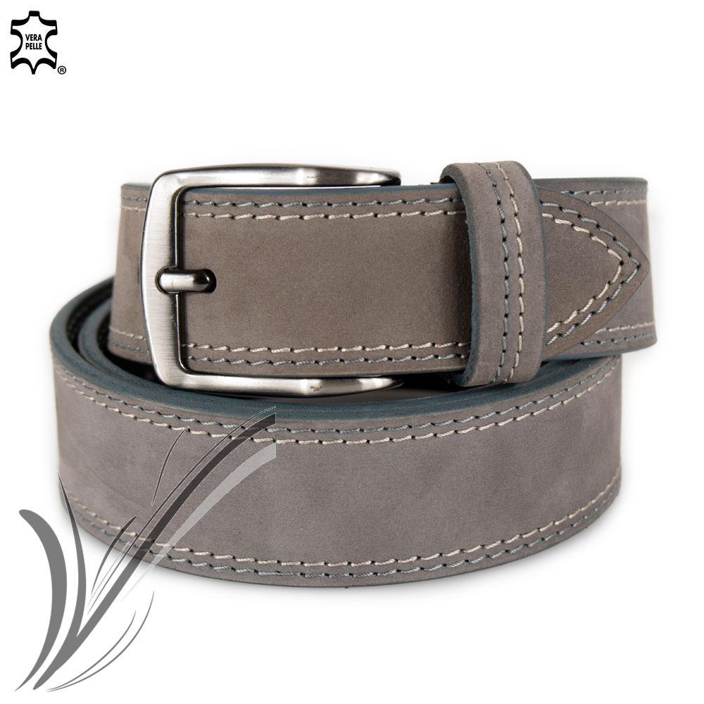 Uomo in vera Cintura Jeans Cintura Nero Vintage Classic Tuta 6 dimensioni 4 CM NUOVO